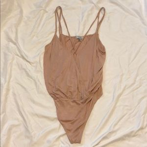 blush body suit